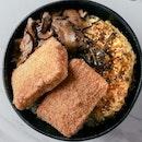 Fried Tofu Rice Bowl