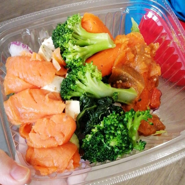 salmon daily bowl
