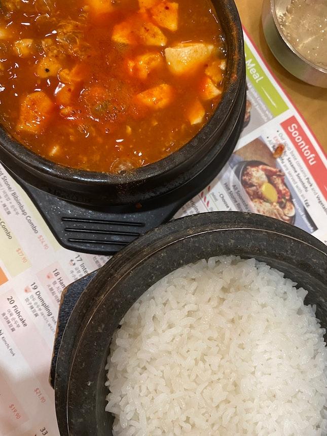 Pork Tofu Soup