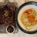 Pork Ribs & Crabmeat Aglio Olio
