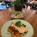 Organic Lemon Chicken & Smoked Salmon Pasta