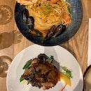 Lobster Pasta & Rotisserie Chicken