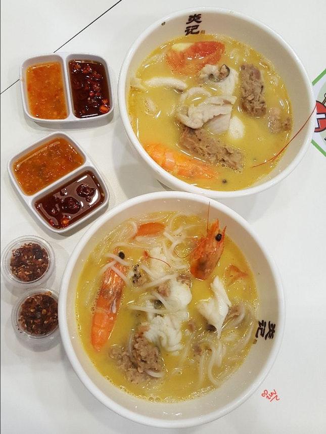 Seafood Soup 🦐🐟🐚🐖