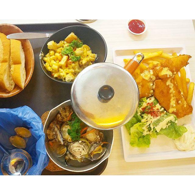 Atas food in hawker centre..