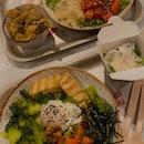 Mala Poke & Healthy Japanese Poke ($14.90)
