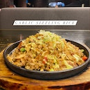 Garlic Sizzling Rice