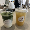 Matcha Latte & Pear Oolong