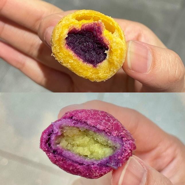 limited sweet potato balls offer!!