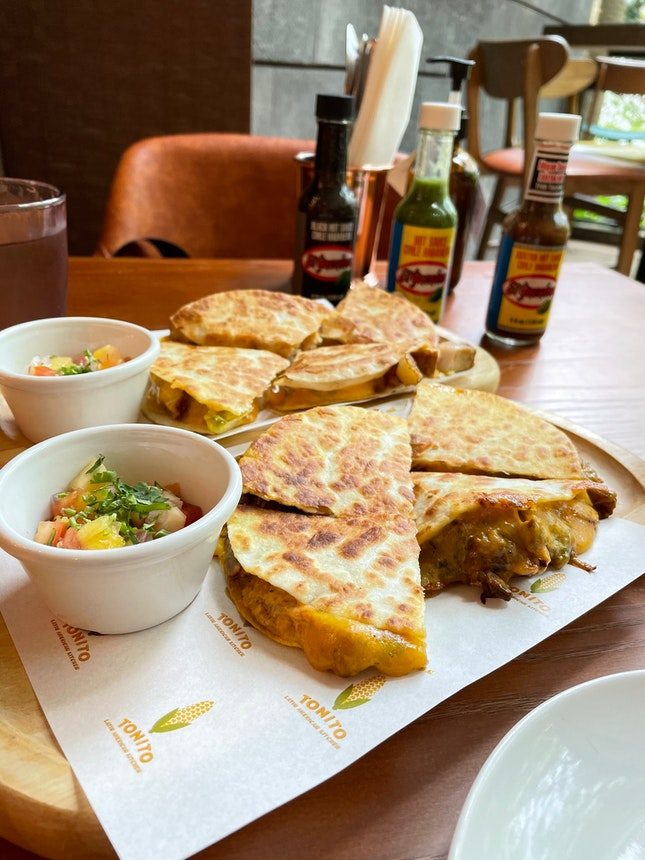 Beef And Pork Quesadilla