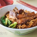 Lao Jie Fang 老街坊招牌牛腩面。排骨、猪脚面 (Mei Ling Market & Food Centre)