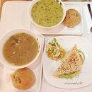 [Tokyo Chicken Stew + Smoked Salmon Sandwich + Drink] S$12.80.