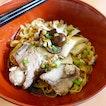 Aw's Singapore Minced Pork Noodles.