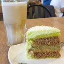 Latte And Odeh Odeh Cake