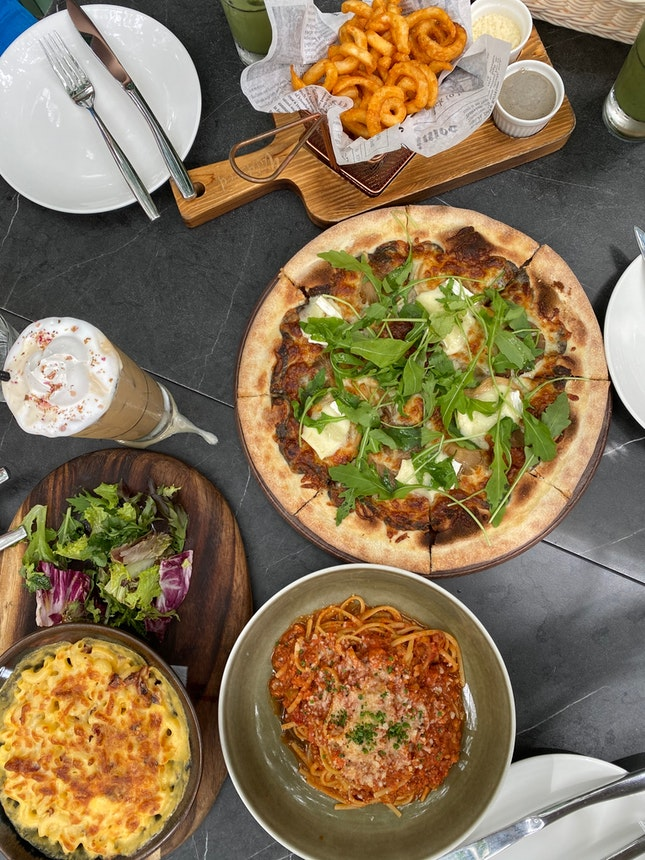 Lunch spread at Wildseed!
