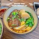 Braised Beef Shank Noodles Dry