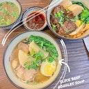 Slice Beef Noodles Soup
