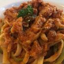Crab Meat Pasta With Tomato & White Wine