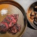 Perfectly done steak