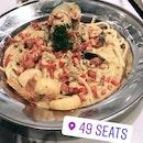 Level 49 Tom Yum Seafood Pasta