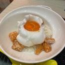 Egg Salmon Rice Bowl
