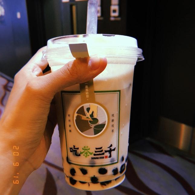 Oolong Fresh Milk Tea $4.70