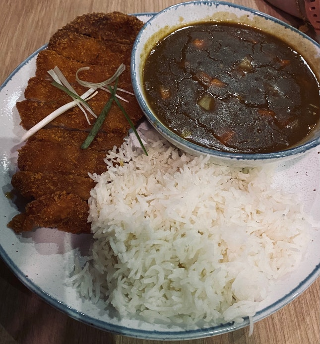 Pork Cutlet Katsu Curry Rice