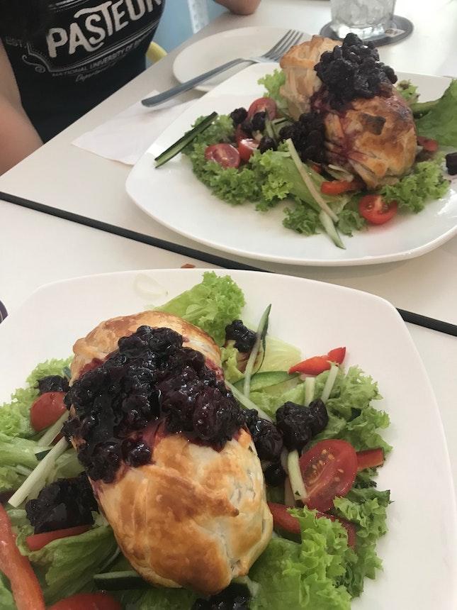 Chicken Wellington.