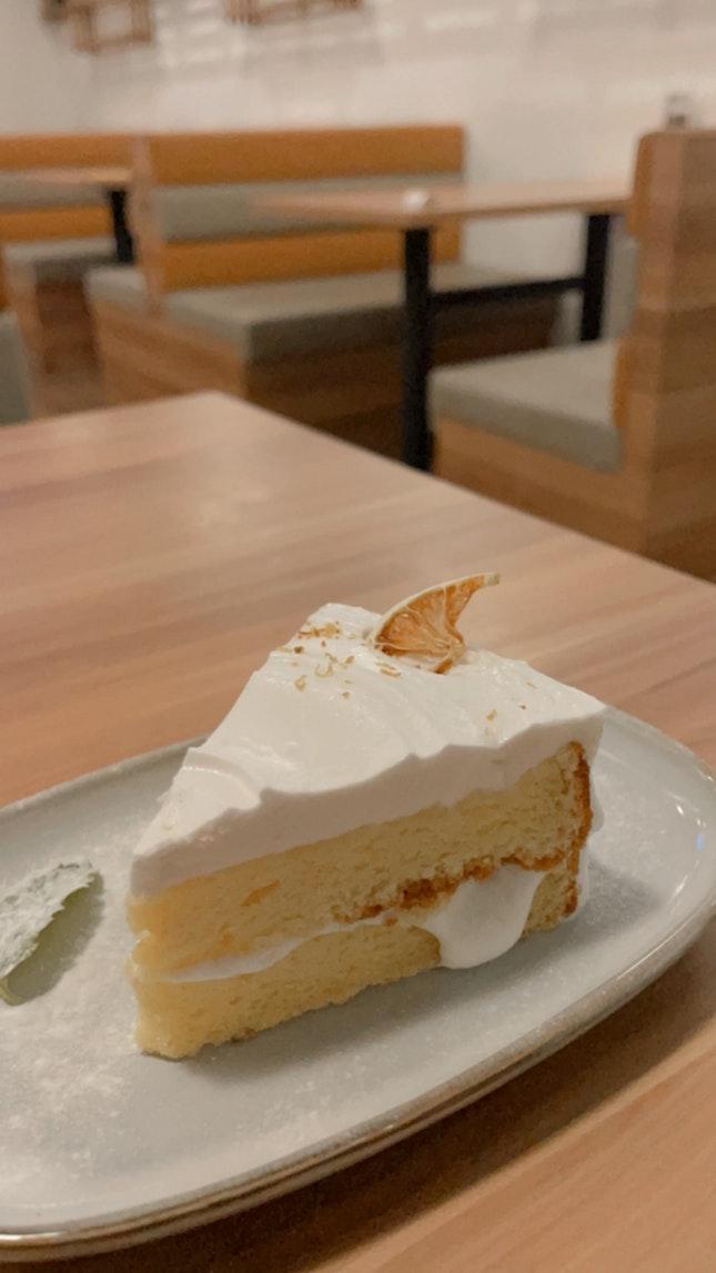 Honey Yuzu cake 🍰 ($6.90)