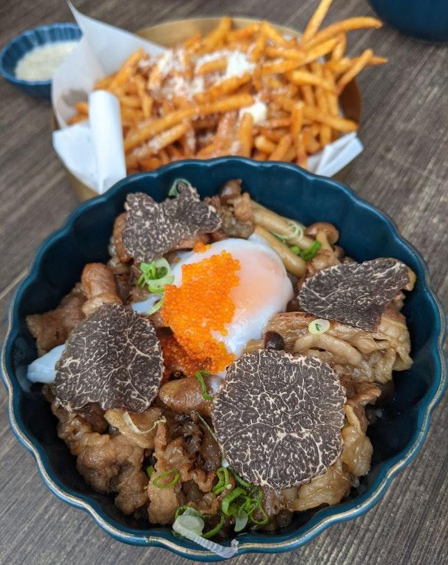Sukiyaki Truffle Don (1-for-1 3 Course Meal)