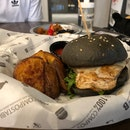 Organic Chicken Burger ($20)
