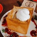 Honey toast is good