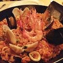 Seafood Paella #spanish #rice #seafood #food #instafood