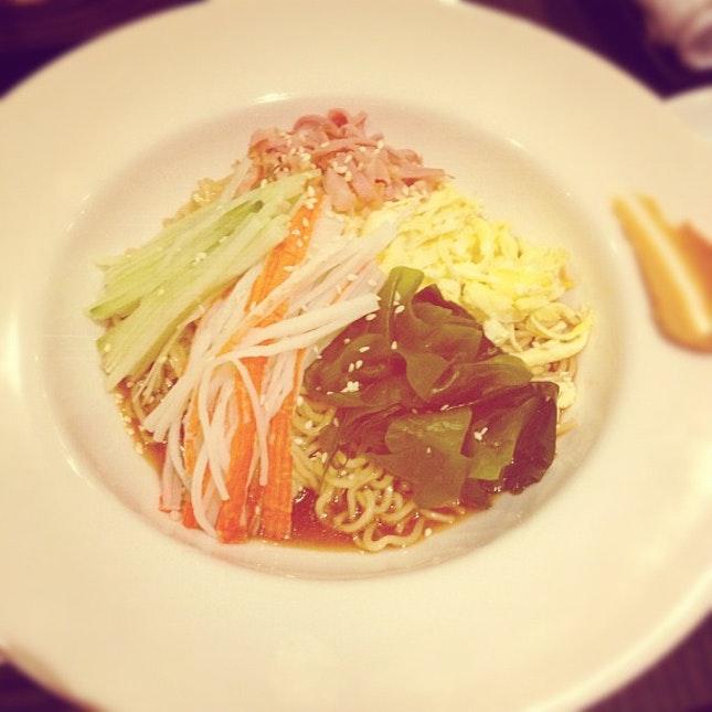 Cold Ramen #japanese #food #noodles