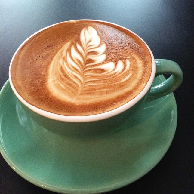 Afternoon cappuccino to soothe the nerves #cappuccino #coffee #hot #drink #instafood