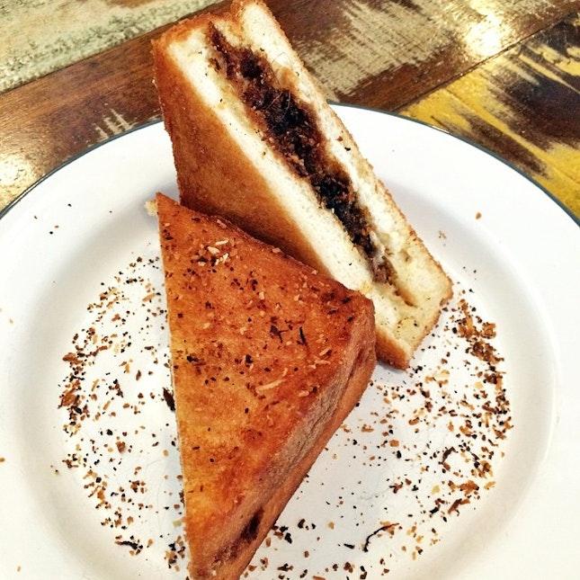 Putumayam Toast #putumayam #toast #malaysian #food #instafood