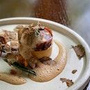 Mushroom Tart (Tasting Menu) 😍