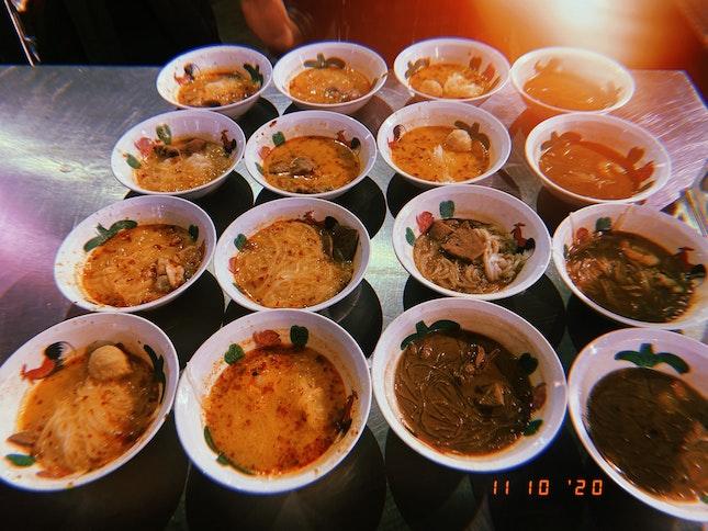 $0.80 boat noodles @ ORTO