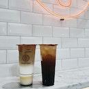 Oolong Tea Latte With Pudding And Honey Lemon Oolong Tea