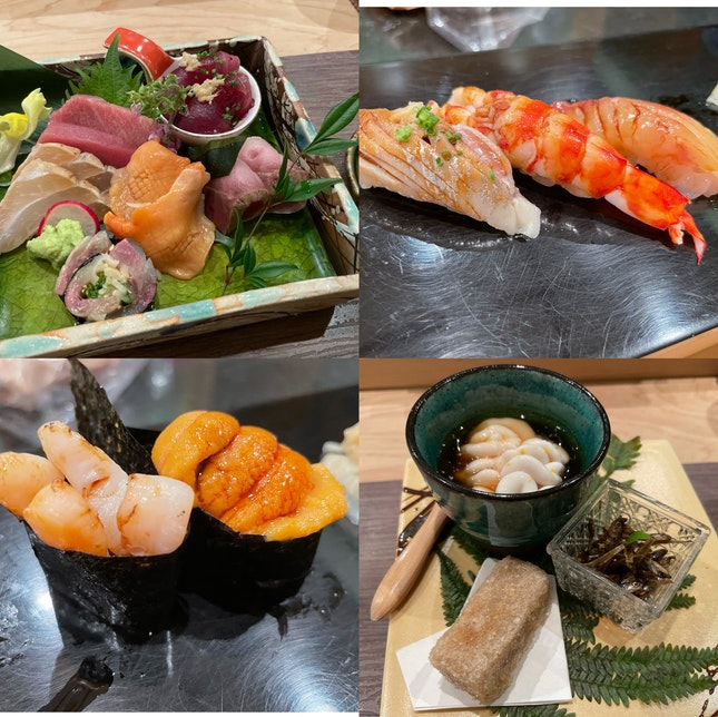 Quiet Nice Omakase For Business Lunch