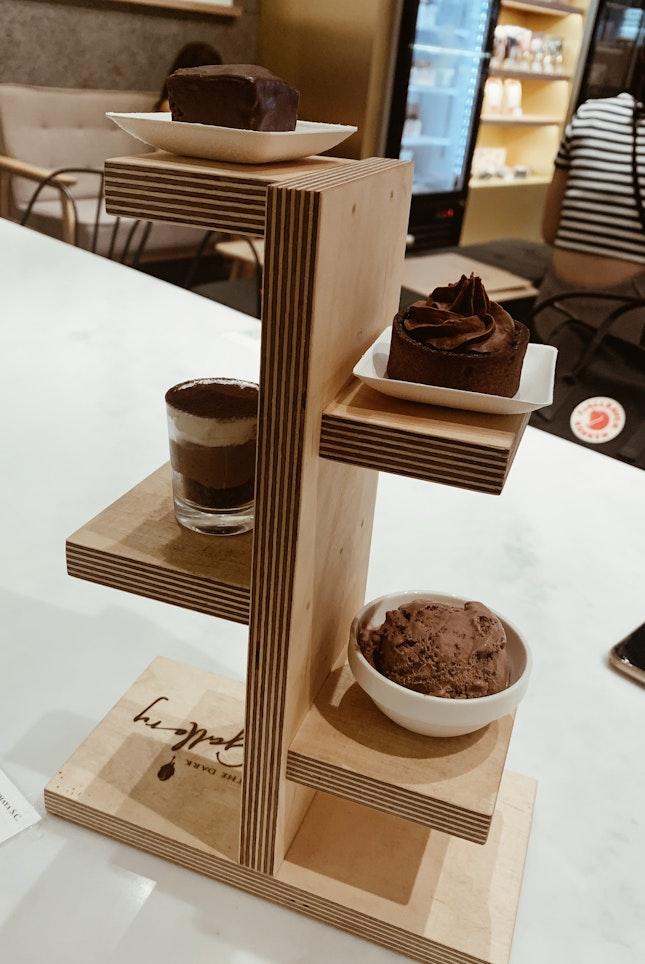 1-1 Chocolate Tasting Platter