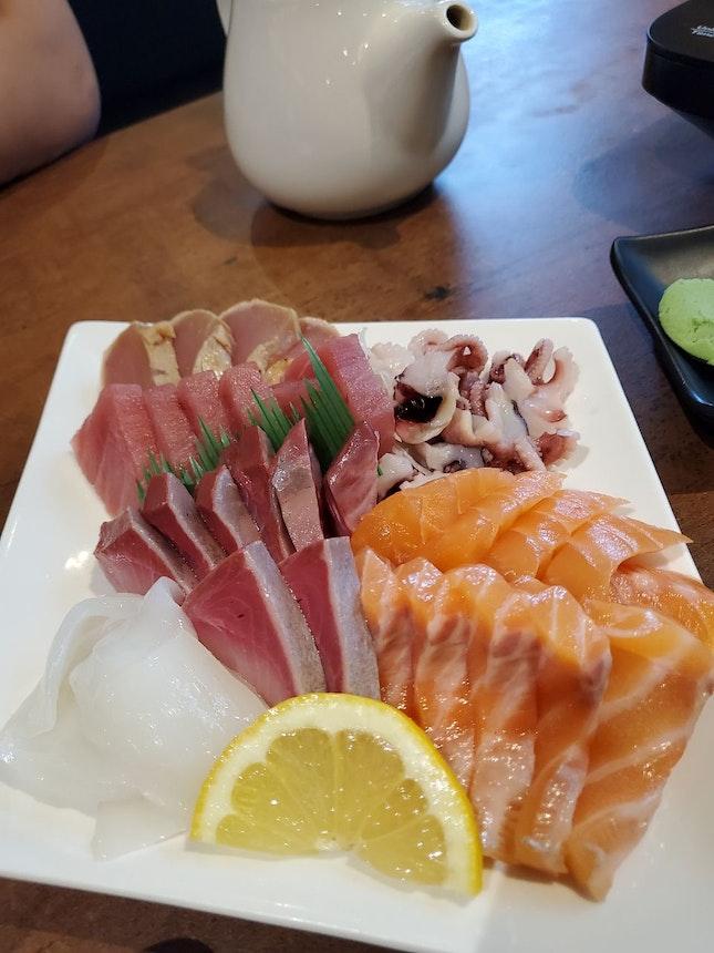 Love The Thick Sashimi Slices