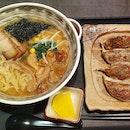 Vegetarian Goma Ramen + Gyoza At Fortune Centre