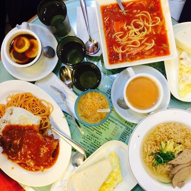 A typical Hong Kong lunch #burpple