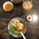 Flavourful Prawn Noodles
