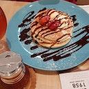 Strawberry and Mixed Berry Pancake
