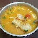 Tom Yam Fish Soup