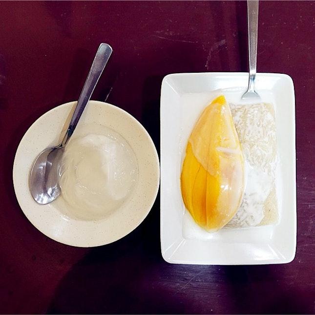 Coconut Jelly + Mango Sticky Rice