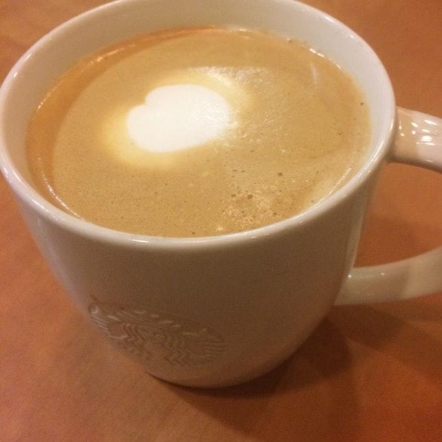 Ristretto Bianco @ Starbucks CP