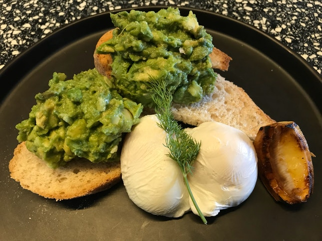 Avocado N Eggs
