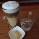 Latte time. #burpple